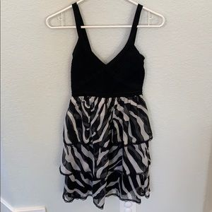 Like new Bebe Zebra Dress!